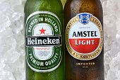 Amstel And Heineken On Ice
