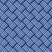 Blue jean cloth seamless pattern.