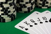 pic of ace spades  - The Best Poker Hand  - JPG