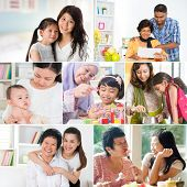 stock photo of  photo  - Collage photo mothers day concept - JPG