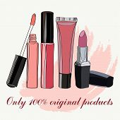 pic of  lips  - Cosmetics for Lips  - JPG