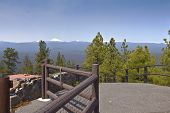 pic of butts  - Viewpoint from top of Lava Butte in Central Oregon - JPG
