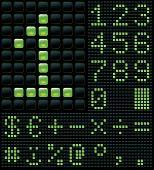 digits and symbols