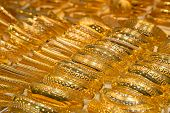 stock photo of dubai  - Gold on the famous  - JPG