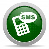 picture of sms  - sms icon phone sign  - JPG