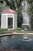 Gazebo And Fountain