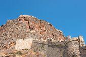 Fortress Wall Monemvasia